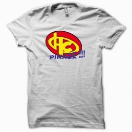 Shirt Hero corp Pinage blanc pour homme et femme