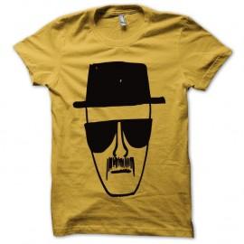 Shirt Breaking bad Heisenberg noir/jaune pour homme et femme