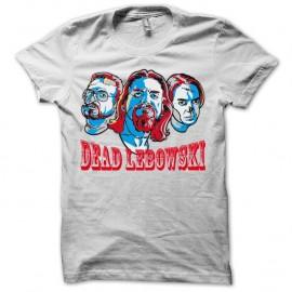 Shirt The Big Lebowski version zombies dead lebowski noir/blanc pour homme et femme