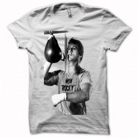 Shirt Rocky Balboa origine noir/blanc pour homme et femme