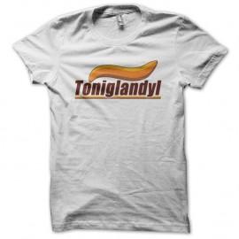 Shirt Toniglandyl alain chabat des nuls blanc pour homme et femme