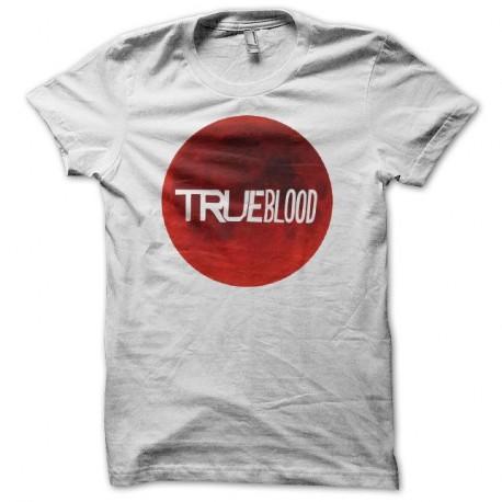 Shirt True Blood lune de sang blanc pour homme et femme