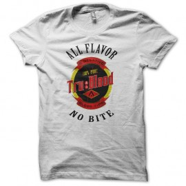 Shirt True Blood logo bouteille blanc pour homme et femme