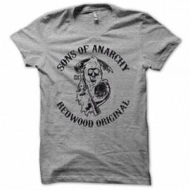 Shirt Sons Of Anarchy version rare noir/gris pour homme et femme