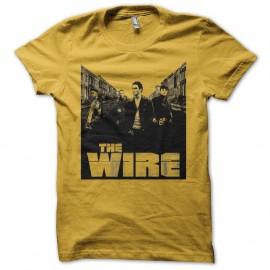 Shirt The Wire street jaune pour homme et femme