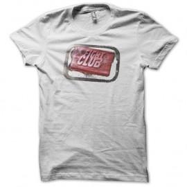 Shirt Fight Club soap blanc pour homme et femme
