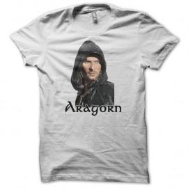 Shirt Aragorn seigneur des anneaux blanc pour homme et femme