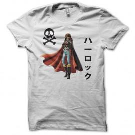 Shirt Albator version classique blanc pour homme et femme