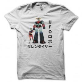 Shirt Goldorak original manga blanc pour homme et femme