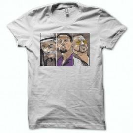 Shirt The Big Lebowski Dude 2 blanc pour homme et femme