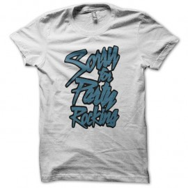 Shirt LMFAO Party Rock Anthem every day i m shufflin blanc pour homme et femme