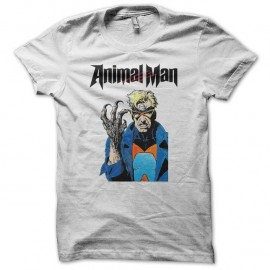 Shirt Animal Man blanc pour homme et femme