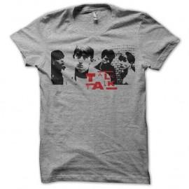 Shirt Talk Talk band gris pour homme et femme