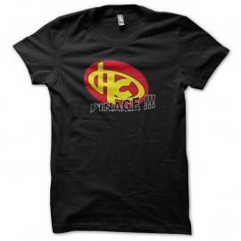 Shirt Hero corp Pinage noir pour homme et femme