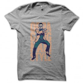 Shirt Gangnam Style OPPA Dance du cheval gris pour homme et femme