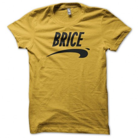 t shirt brice de nice jaune. Black Bedroom Furniture Sets. Home Design Ideas