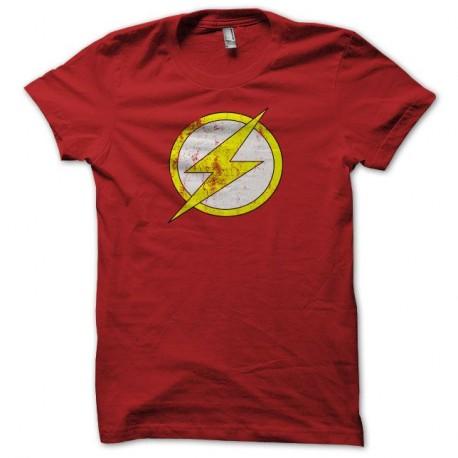 Shirt Flash gordon vintage grungy rouge pour homme et femme