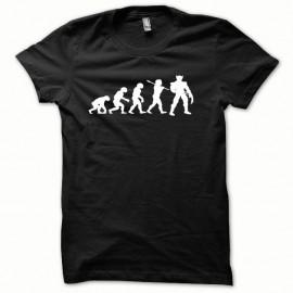 Shirt Wolverine Evolution classic modèle blanc/noir pour homme et femme