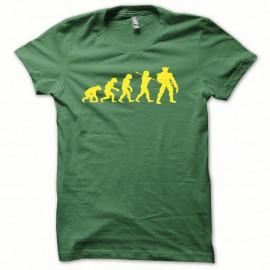 Shirt Wolverine Evolution rastafarl jaune/vert bouteille pour homme et femme