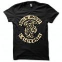 Shirt Sons Of Anarchy collection california noir pour homme et femme