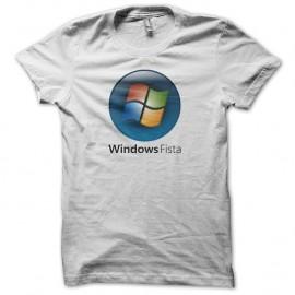 Shirt Windows Fista blanc pour homme et femme