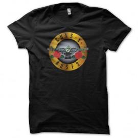 Shirt Guns N Roses medal noir pour homme et femme