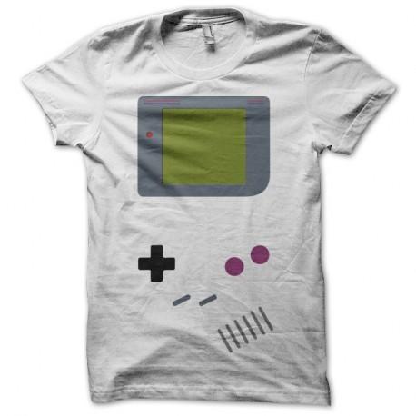 Shirt Game Boy parodie blanc pour homme et femme