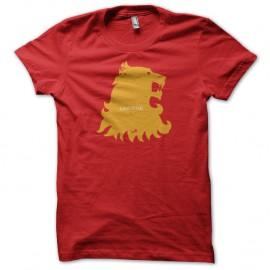 Shirt Le Trône de fer Shirt Lannister Game of thrones rouge pour homme et femme