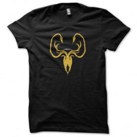 Shirt Le Trône de fer Shirt Greyjoy Game of thrones noir pour homme et femme