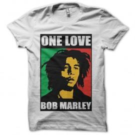Shirt Bob Marley One love noir/blanc pour homme et femme
