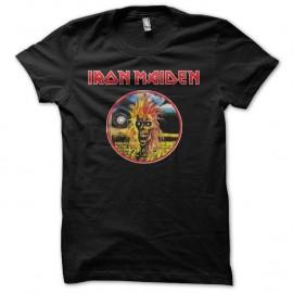 Shirt Iron Maiden fan art noir pour homme et femme