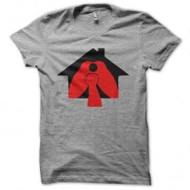 Shirt La Cabane à Fister La Fistinière gris pour homme et femme