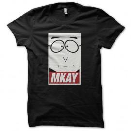 Shirt South Park parodie Mkay noir pour homme et femme