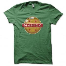 Shirt Namek boule de cristal vert pour homme et femme