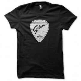 Shirt Gibson mediator grungy noir pour homme et femme