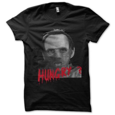 Shirt Hannibal Lecter artwork hungry ? Noir pour homme et femme