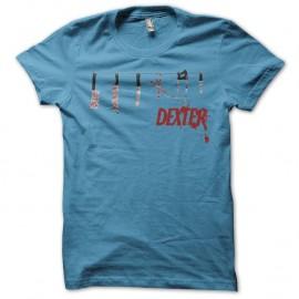 Tee-shirt Dexter Toolkit turquoise pour homme et femme