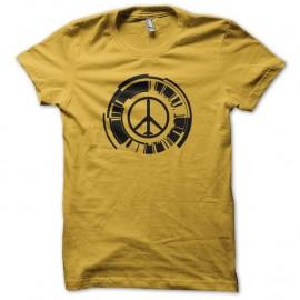 Shirt Metal Gear Solid Peace Walker jaune pour homme et femme