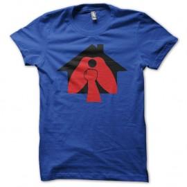 Shirt La Cabane à Fister La Fistinière bleu pour homme et femme