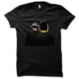 Shirt Daft Punk nouveau logo Random Access Memories sur Shirt noir pour homme et femme