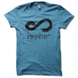 Shirt symbole infini bleu pour homme et femme