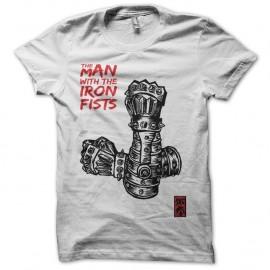 Shirt L'homme aux poings de fer fan art blanc pour homme et femme