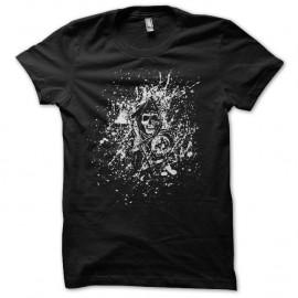 Shirt Sons of Anarchy splash art noir pour homme et femme