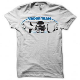 Shirt Team Vador blanc pour homme et femme