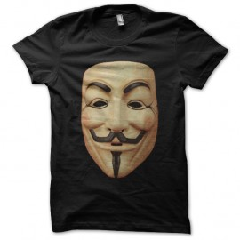 Shirt T-Mask noir pour homme et femme