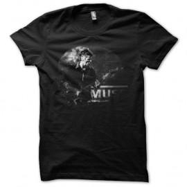 Shirt Muse version classique noir pour homme et femme