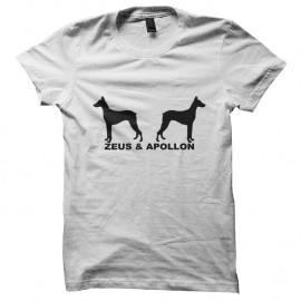 Shirt Zeus & Apollon - Magnum blanc pour homme et femme