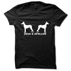 Shirt Zeus & Apollon Magnum noir pour homme et femme