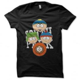 Shirt South Park parodie Cartman Kenny Kyle Stan noir pour homme et femme