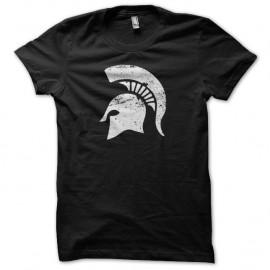 Shirt Spartacus casque spartiate vintage artwork noir pour homme et femme